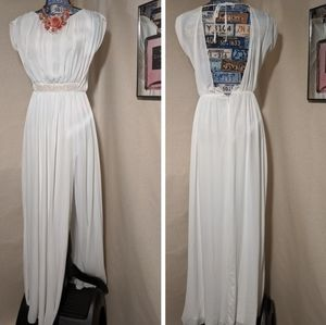 ASOS GREEK GODDESS DRAPE DRESS